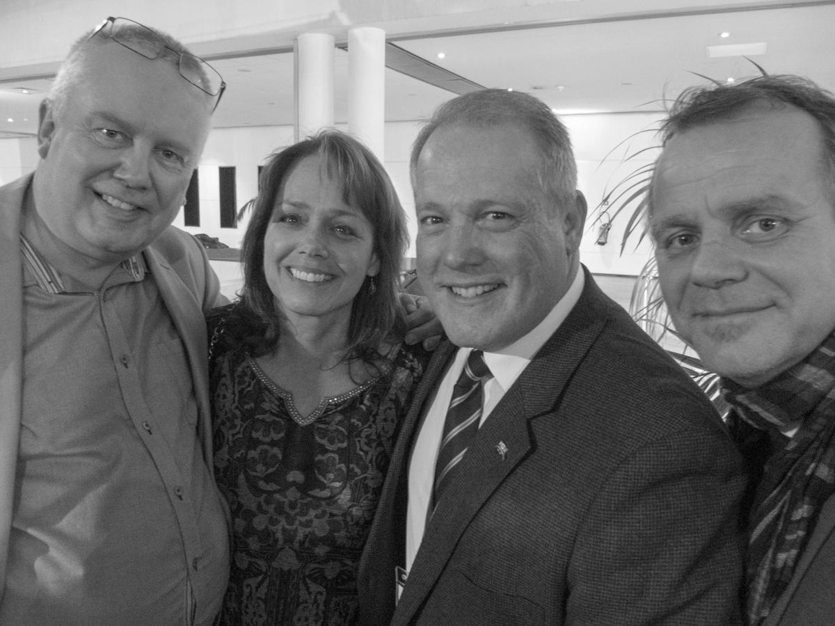Jørgen Brandt, Sandy Trust, David Trust (PPAs CEO), Andy Hems i Montpellier
